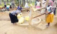 Butooli B borehole in Buyende District
